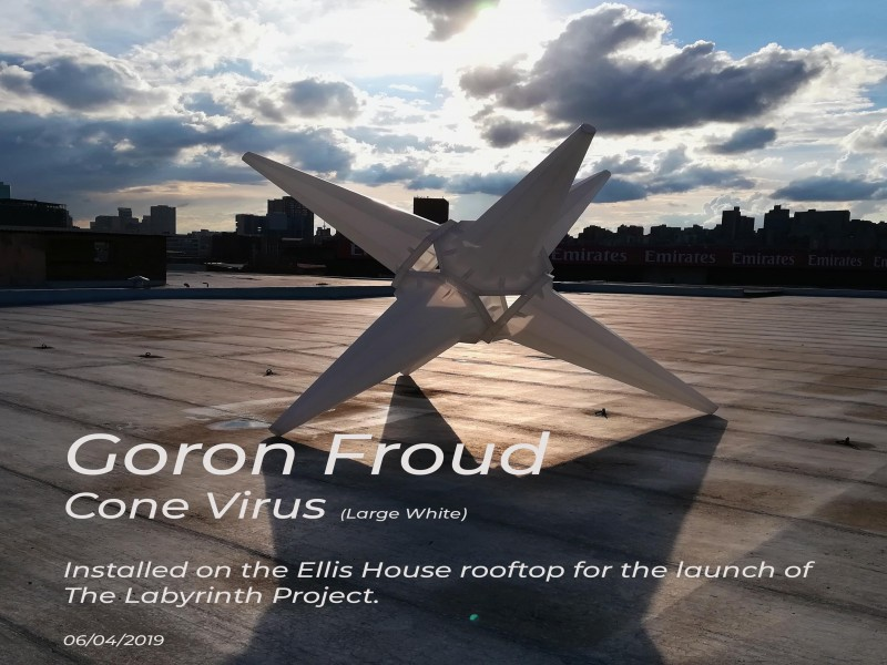 Installation of Gordon Froud's Cone Virus